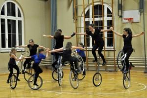 Einrad-, Hocheinrad- und Kunstrad-Mix 9er